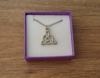 Celtic pendant on chain