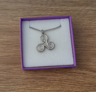 Celtic pendant on chain