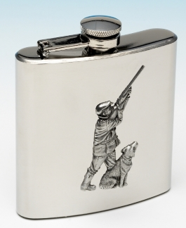 hunter hip flask