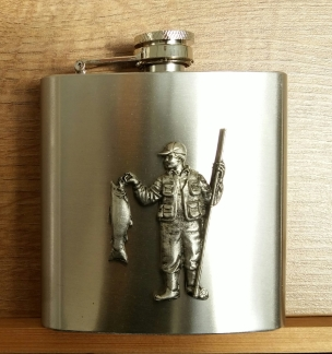 fisherman hip flask